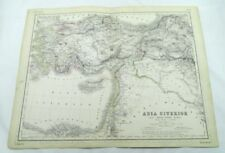 Lithography 1800-1899 Date Range Antique Topographical Maps
