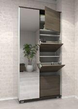 Mobile ingresso moderno con specchio,scarpiera integrata modello delux design
