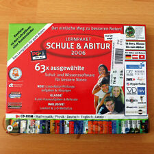 LERNPAKET Schule & Abitur 2006 Franzis 9 x CD-ROM inkl. Handbuch NEU & unbenutzt