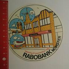 Aufkleber/Sticker: Rabobank Monster opening 21 September 1983 (020816164)