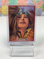 SHIPS SAME DAY 1996 Fleer ROGUE Marvel X-MEN Trading Card #11