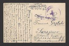 Yugoslavia WW1 Prisoners of War postcard