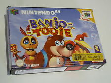 NINTENDO 64   ///   BANJO - TOOIE  Complet ! ETAT COLLECTION
