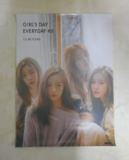 K-POP Girl's Day 5th Mini Album [GIRL'S DAY EVERYDAY #5] OFFCIAL POSTER -NEW-