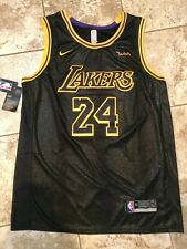 Kobe Bryant 24 Lakers City Edition Black Mamba Swingman Wish Authentic Nike Nwt