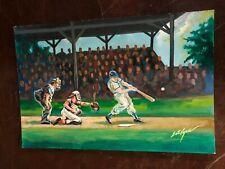 Historic Autographs Eric Ayers Legends of Baseball Original Artwork