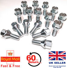 Alfa Romeo GTV alloy wheel bolts 17mm Hex M12 x 1.25, 26mm thread x 16