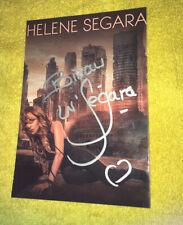 Helene Segara Photo Cartonnee Karma Dedicace Autograph