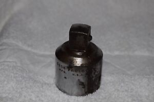 """Proto 3/4"""" M 1"""" F Socket Adapter 5854 Used Great Condition"""
