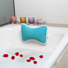 Anti-Slip Bathtub Pillow Spa Bath Cushion Head Neck Rest Relax with Suction Cup