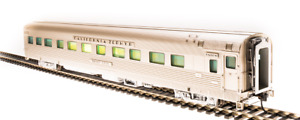 Broadway Limited ~ HO Scale W/Lights~ D&RGW Zephyr Silver Gull Sleeper #1135 521
