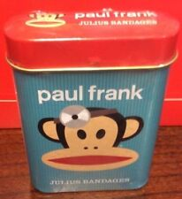 Paul Frank Julius Bandages in Metal Tin 15 Bandages in 3 Different Styles New