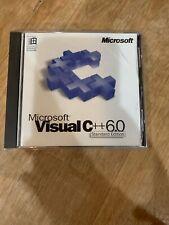 Microsoft Visual C++ Standard Edition Development System Version 6.0