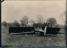Aviation c. 1930 - Avion NIEUPORT 29 Ecrasé au Sol - AVI 60