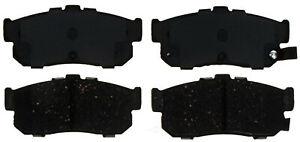 Disc Brake Pad Set-Ceramic Disc Brake Pad Rear ACDelco Advantage 14D540CH