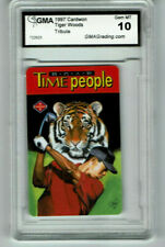 1997 Tiger Woods Cardwon rookie gem mint 10