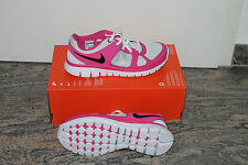 Nike Flex Sport Femmes Chaussure Gris Rose Taille 38, UK 5, US 5,5y NEUF