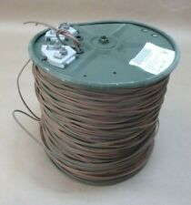 WF16U MILITARY MIL COMMUNICATION TELEPHONE WIRE CABLE 1000FT. , 6145-01-259-9203