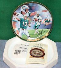 Dan Marino Miami Dolphins Field General Decorative Plate - Bradford Exchange