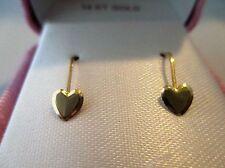 14k gold lever back kids earrings
