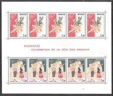 Monaco 1980 Europa Palm Sunday Traditions Souvenir Sheet MNH (SC# 1279a)
