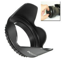 52mm Flower Camera Petal Lens Hood+Cloth For Nikon D7000 D5200 D5100 D3200 D3100
