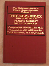 The Zeis Index Vol. I by Educational Foundation of the American Society of Plast