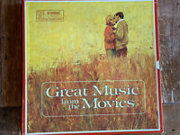 Various ‎– Great Music From The Movies - RDA-39A - 1968 - 4 LP'S - Vinyl