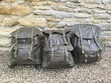 Swiss Army Backpack Rucksack Rubberised VTG Lot of 3 Rucksacks Backpacks VTG