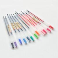 Newest 12pcs/lot Simple 12 Colors Gel Pen 0.5mm Colorful Ink Pens Office Supply