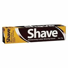 BEST PRICE! SHAVE CREAM MOISTURISING LATHER SHAVING HAIR REMOVAL 75G
