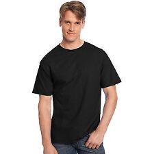Hanes Tagless Short Sleeve T-shirt 5250 - Black Size 2xl
