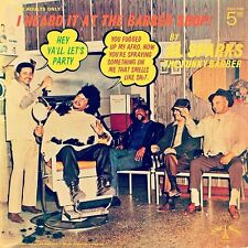 Sealed Comedy LP_Al Sparks the Funky Barber_Heard It At The Barber Shop_La Val