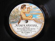 78rpm FELIX SENIUS sings Mozart & Brahms - RARE ANKER RECORD E 9601