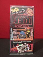 "Star Wars ROTJ ""Jabba the Hutt Throne Room"" Vintage 1983 Presto Magix Sealed"