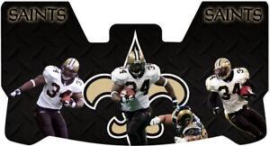 Custom New Orleans Saints Ricky Williams Football Helmet Visor, W/ Clips