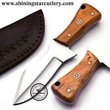 Custom Hand Made  D2 Tool Steel Hunting Knife W/SheathDHK206R