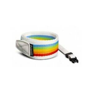 POLAROID Camera Strap  -  RAINBOW - WHITE