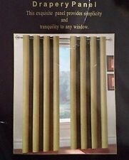 "Luxury Hotel Drapery Panel Curtain 54""W x 84""L One Gold Panel Woven Polyester"
