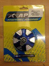 KTM  EXC 250 300  2008-2017   APICO  FUEL PETROL CAP & VENT PIPE BLUE 1/4 TURN