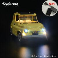 Kyglaring LED Light for LEGO 10271 Creator Expert Exclusive FIAT 500 Car + BOX
