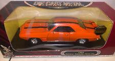 Road Signature 1969 Pontiac Firebird Trans Am Diecast Orange Custom Color