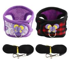 3 Color Chinchilla Walking Harness Vest with Leash for  Hamster S Size