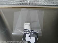500x Bulk Unicorn Mushroom Substrate Spawn Filter Grow Bags (Autoclave safe)