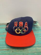 Starter Colorado U.S.A Olympics Baseball Hat Cap Blue Red New with Tags
