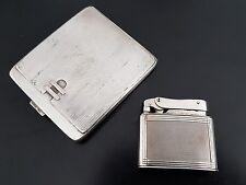 Mylflam dúplex 835 plata Silver encendedor vintage petrol lighter briquet set