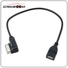 for VW EOS CC Tiguan Passat Jetta MDI USB AUX Adapter Cable RCD510 RCD310 RNS510