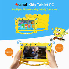 "7"" Inch Kids Tablet Pc Android 7.1 Quad Core Wifi Camera Uk Stock Child Children"