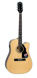 Silvertone 710CENA Acoustic Electric Steel String Guitar Solid Spruce Top
