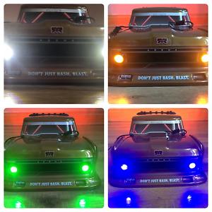 ARRMA INFRACTION Felony Senton LED HD 4 Light Kit Only Headlight Tail lights HID